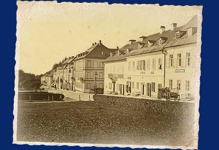 Kolonada history 1856